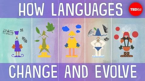 Thumbnail for entry How languages evolve - Alex Gendler