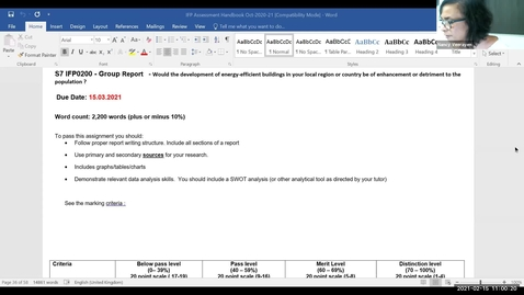 Thumbnail for entry Block 5a - S7  Report writing (15/2/21)