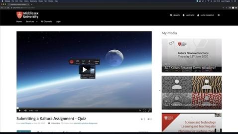 Thumbnail for entry Kaltura Editing