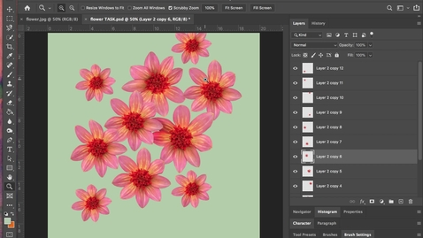 Thumbnail for entry photoshop 9 - Healing Brush Tool
