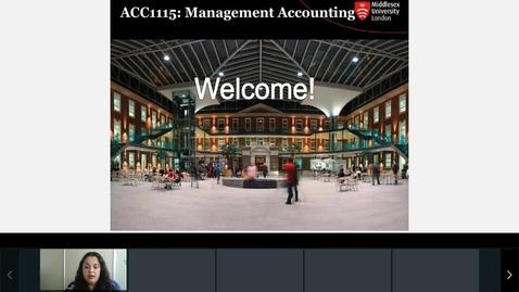 Thumbnail for entry Rec- Sep 27, 2021 10:31 AM - ACC1115 Agnes Session.mp4
