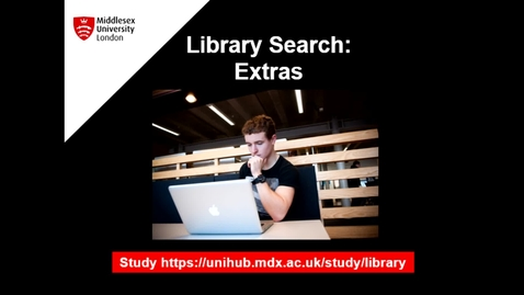 Thumbnail for entry Library Search Extras - August 27th 2020, 1:36:23 pm