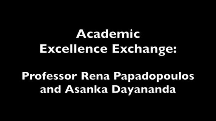 AEE: Rena Papadopoulos and Asanka Dayandanda