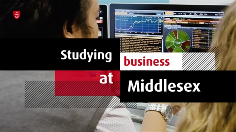 Thumbnail for entry Study Business at MDX