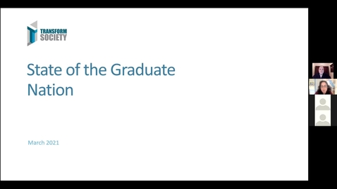 Thumbnail for entry Transform Society: The Graduate Jobs Market