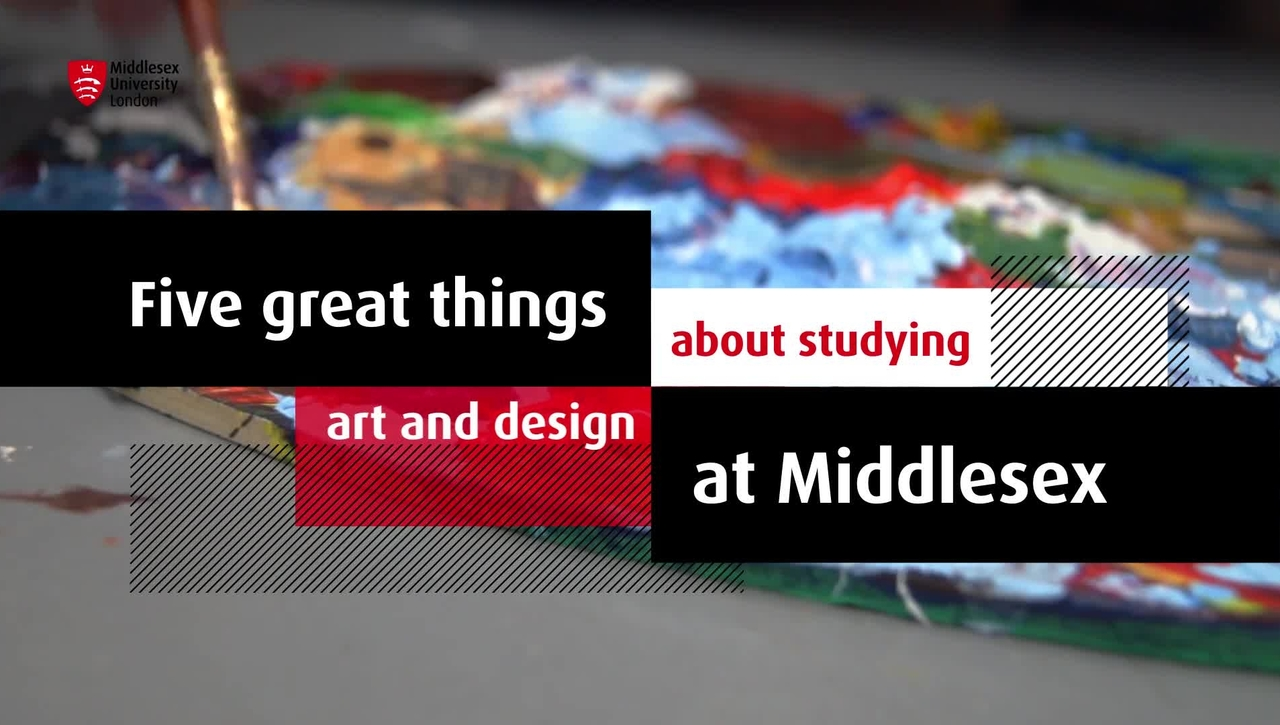 Study Art and design at MDX