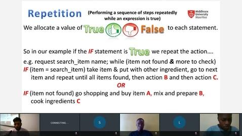 Thumbnail for entry Algorithm