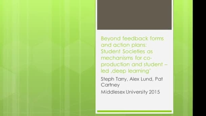 AEE: Beyond Feedback Forms and Action Plans