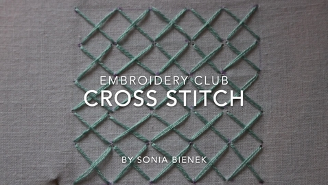 Thumbnail for entry Cross Stitch