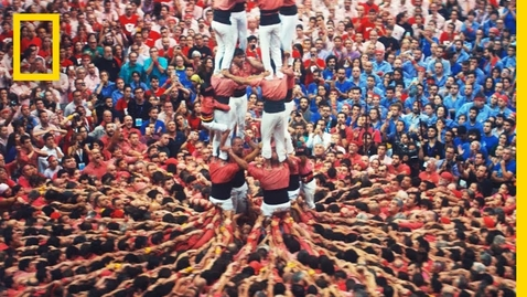 Thumbnail for entry These Death-Defying Human Towers Build on Catalan Tradition   Short Film Showcase