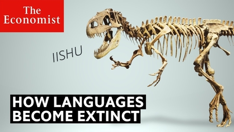 Thumbnail for entry Why do languages die? | The Economist