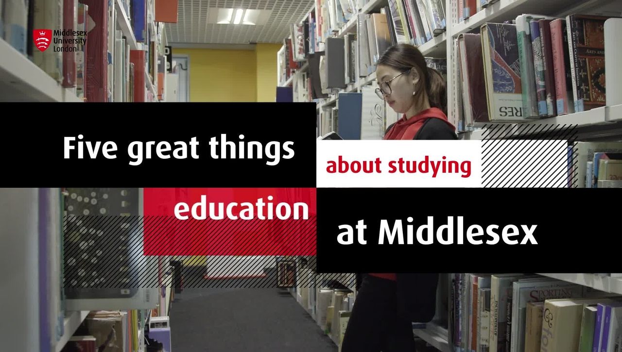 Study Education at MDX