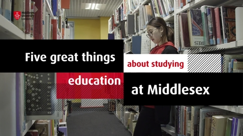 Thumbnail for entry Study Education at MDX