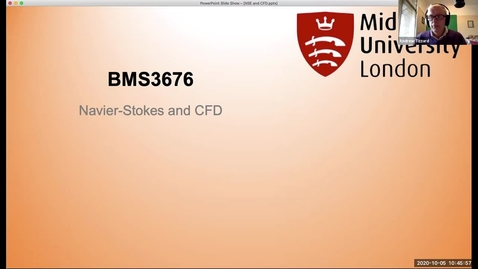 Thumbnail for entry 021 In-sessional Lecture NSE and CFD