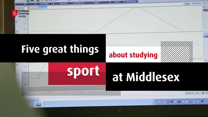 Study Sport at MDX