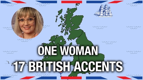 Thumbnail for entry One Woman, 17 British Accents - Anglophenia Ep 5