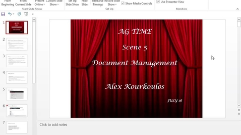 Thumbnail for entry CCSS Showcase 4 - Document Management