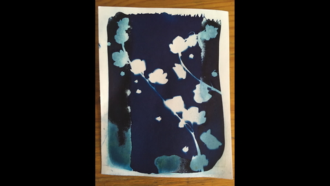 Thumbnail for entry Cyanotype timelaps #1