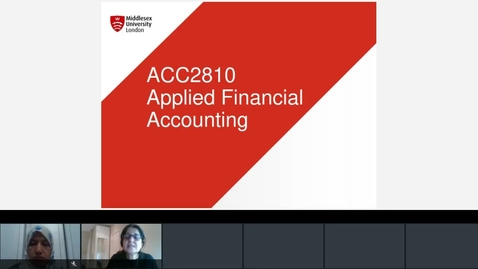 Thumbnail for entry Unit 7 Investment in Other Companies Lecture Jan 4, Firoozeh  Monday Session