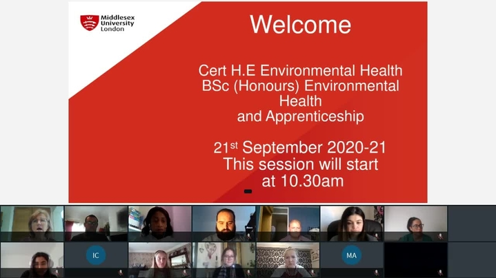 Thumbnail for channel BSc Environmental Health and Apprenticeship 2020-21