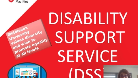 Thumbnail for entry DISABILITY SUPPORT SERVICE BRIEF (MRU)
