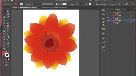 Thumbnail for entry illustrator 7 - Stroke +  Brushes