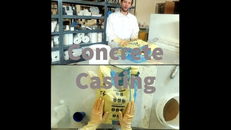 Thumbnail for entry Concrete mixing and casting