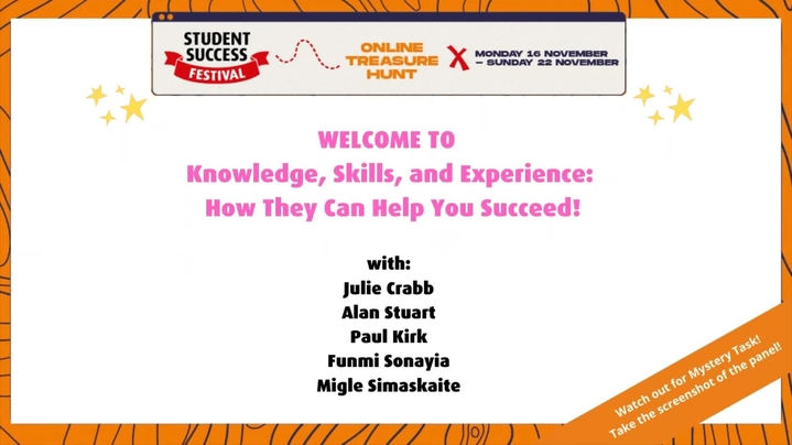 Thumbnail for channel The Student Success Festival