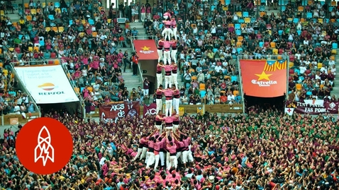 Thumbnail for entry Behold the Human Towers of Catalonia