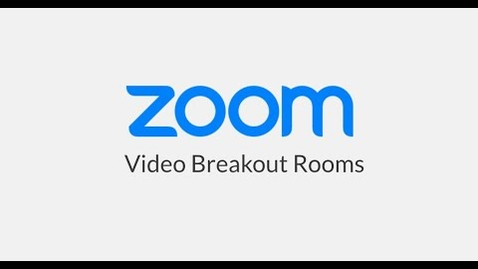 Thumbnail for entry Video Breakout Rooms Zoom