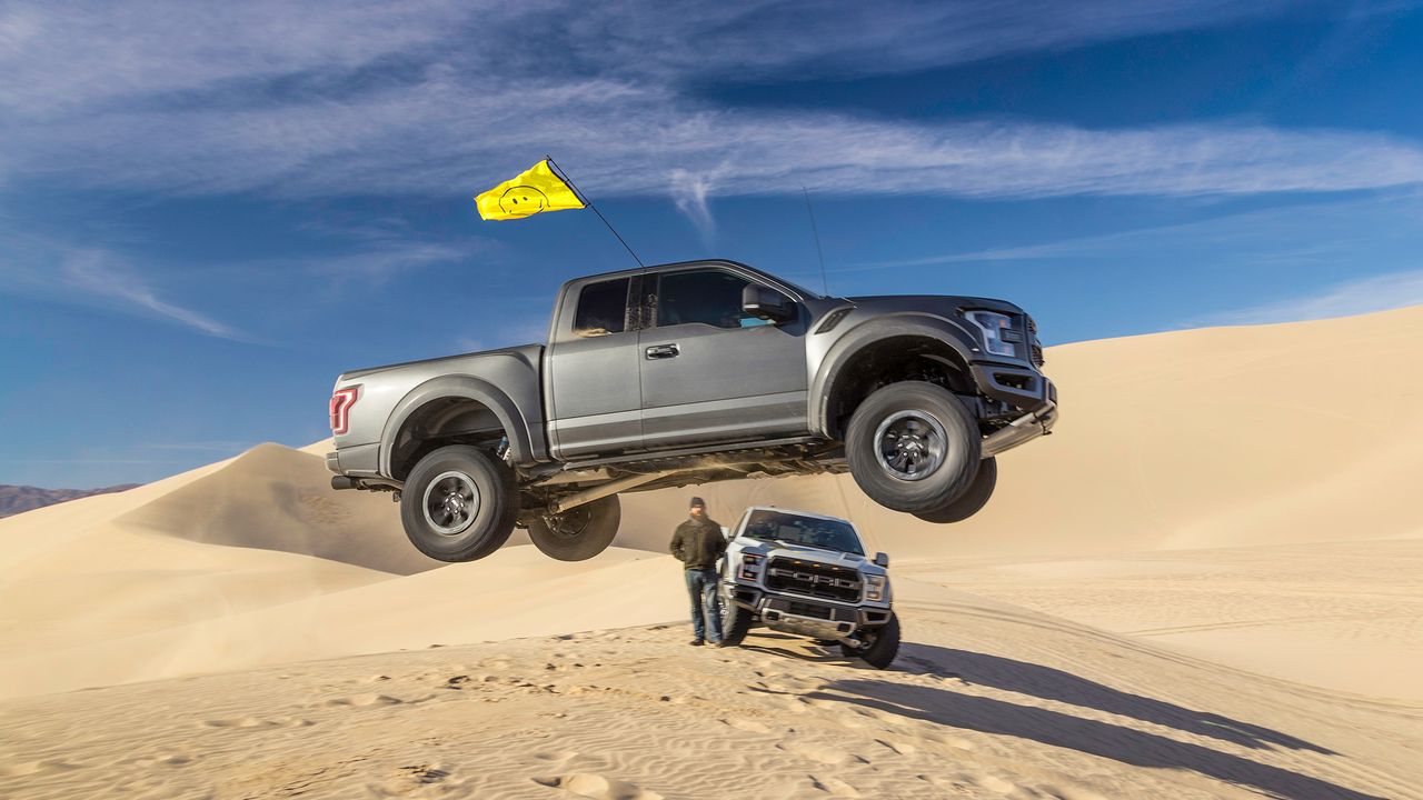 2017 Ford Raptor with Ken Block: Meet the World's Best Flying Truck!
