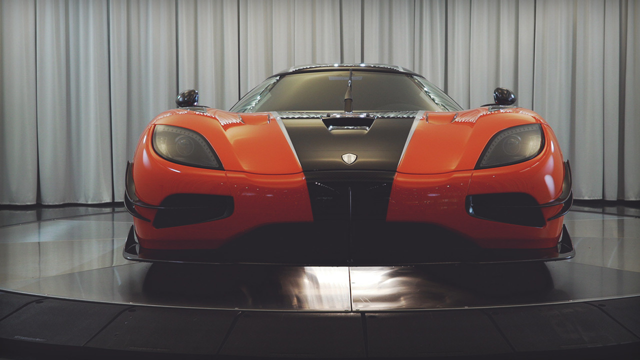 Behind the Wheel: the Koenigsegg Agera