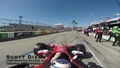 Scott Dixon Laps the 2015 Long Beach Grand Prix Race Track in his #9 Target IndyCar