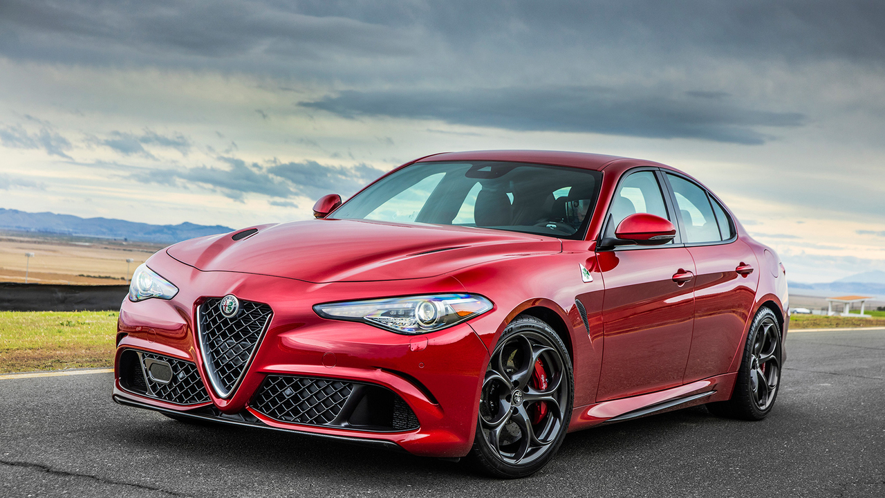 2017 Alfa Romeo Giulia Quadrifoglio—The Return of the Italian Sport Sedan