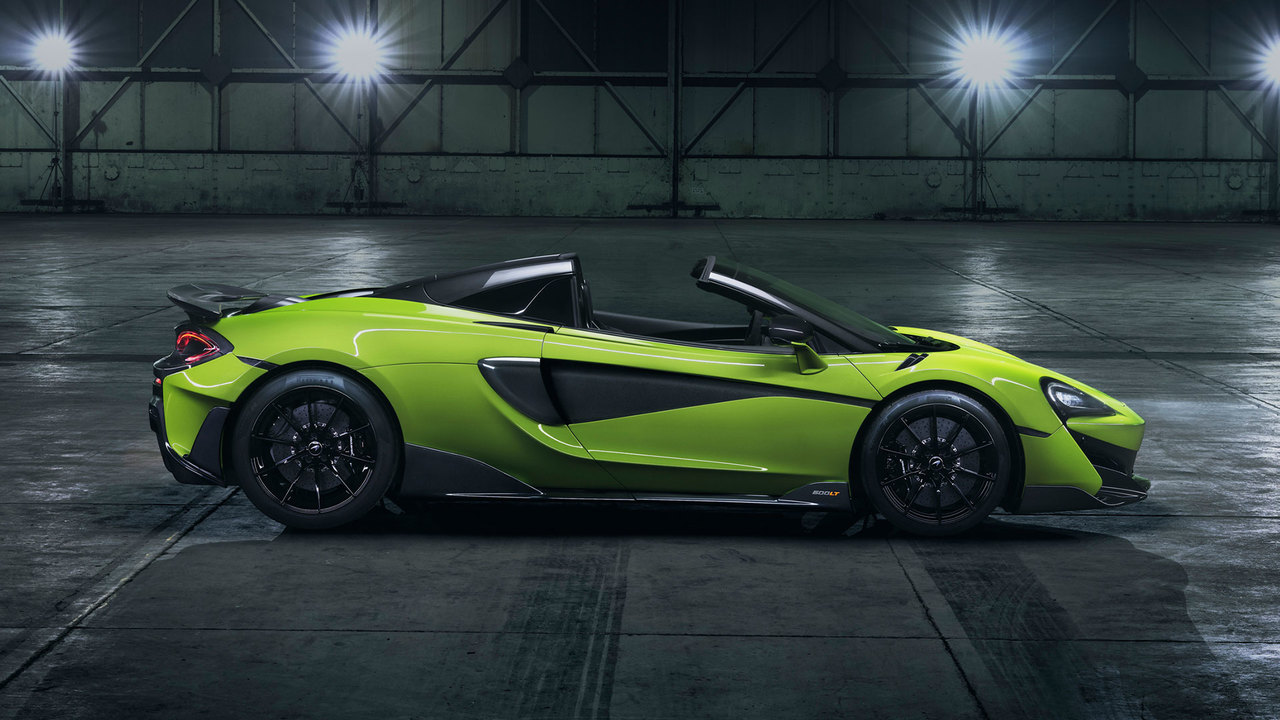 Behind the Wheel: the McLaren 600LT Spider