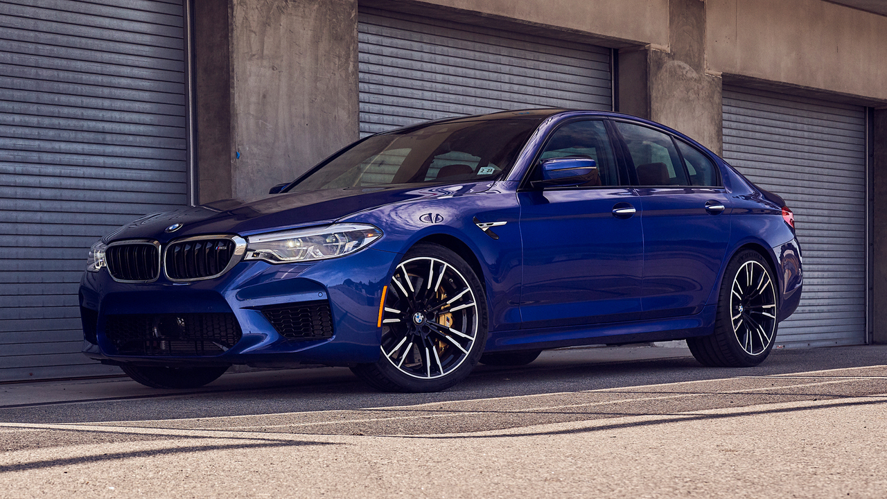 Best Driver's Car Contender: 2018 BMW M5
