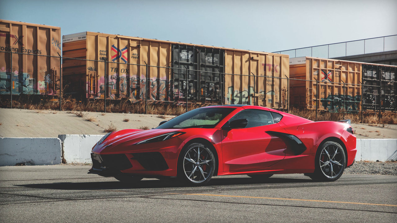 A Driver's POV in the 2020 Chevy Corvette