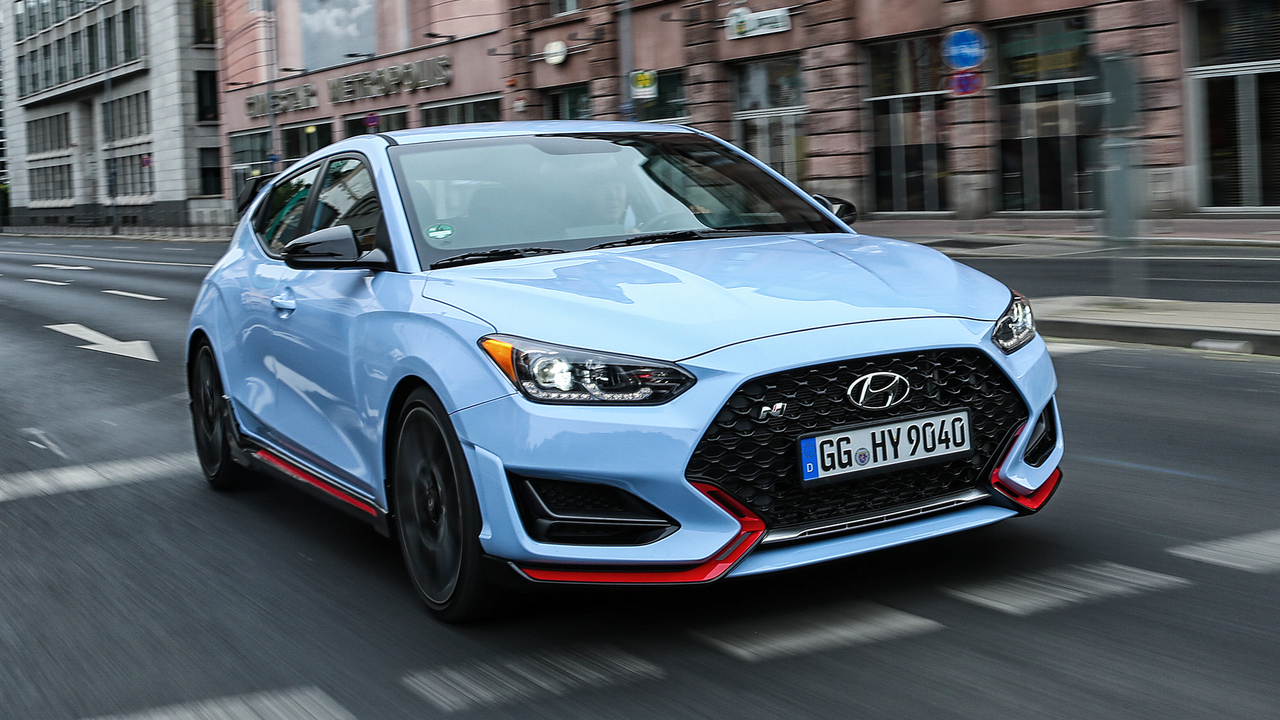 Behind the Wheel of Hyundai's Latest Hot Hatch