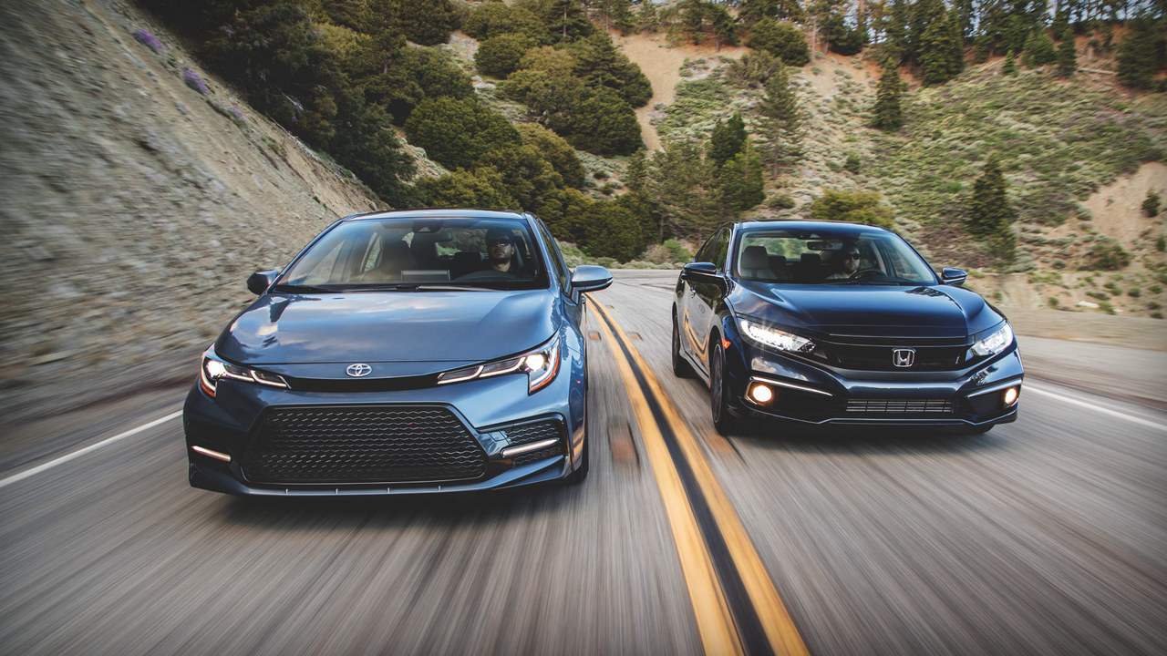The Breakdown: Honda Civic Touring vs. Toyota Corolla XSE
