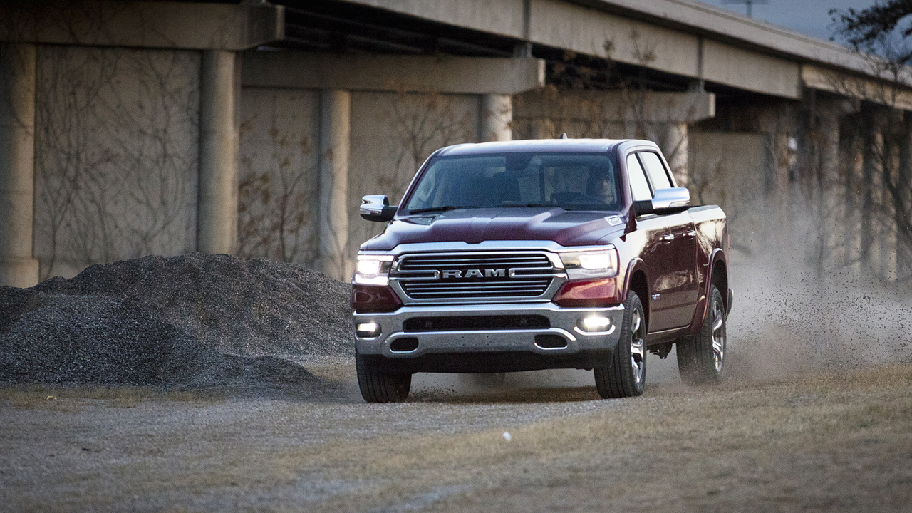 Behind the Wheel of the Brand New 2019 Ram 1500