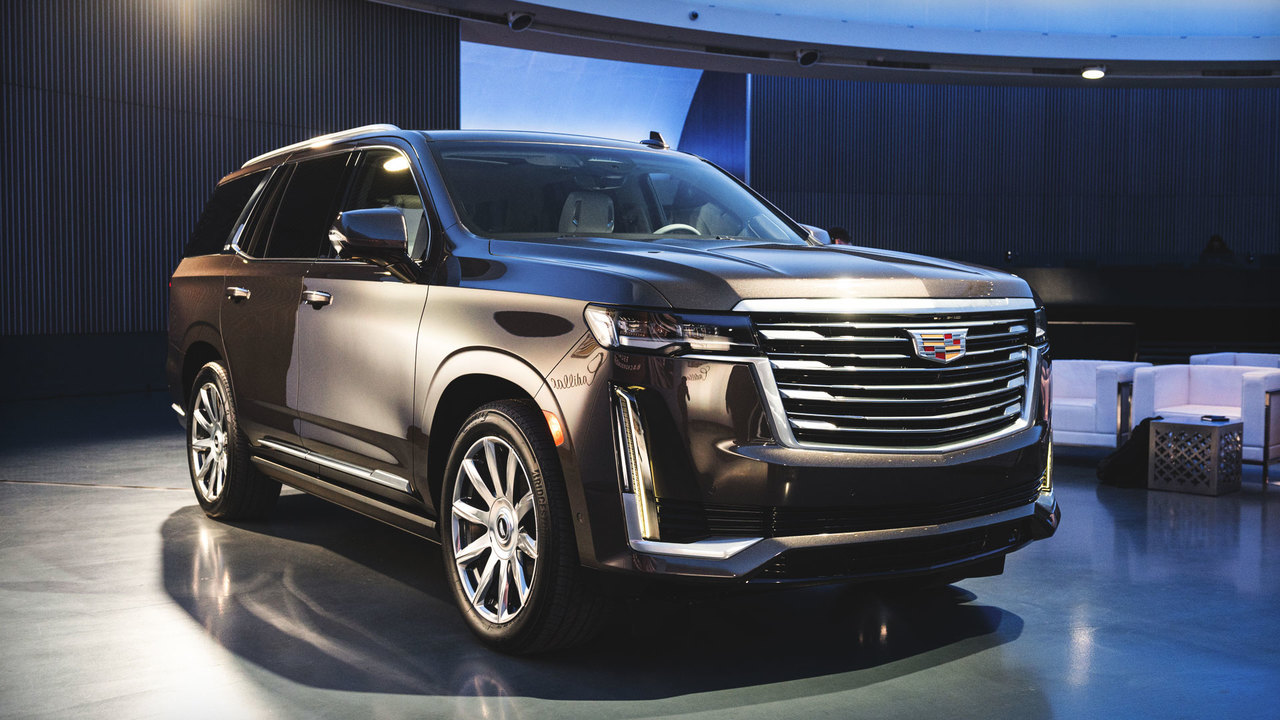 First Look: The Design of the New 2021 Cadillac Escalade