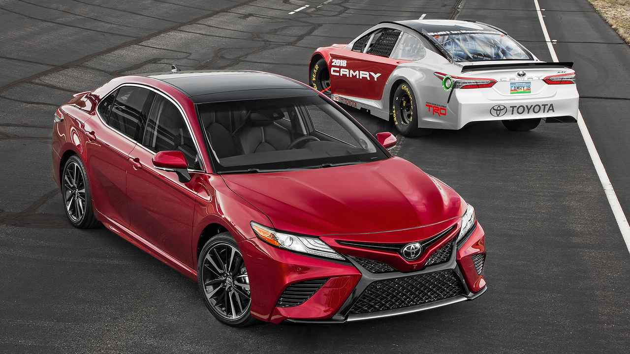 Intersection: Racetrack meets Main Street in the All-New Camry!