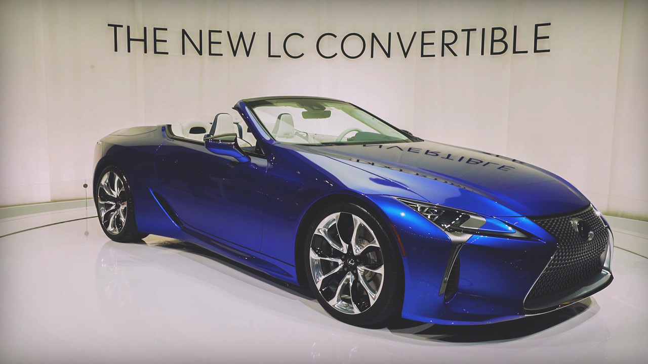 Need to Know: the Lexus LC Convertible Is a Less Than $100K Exotic