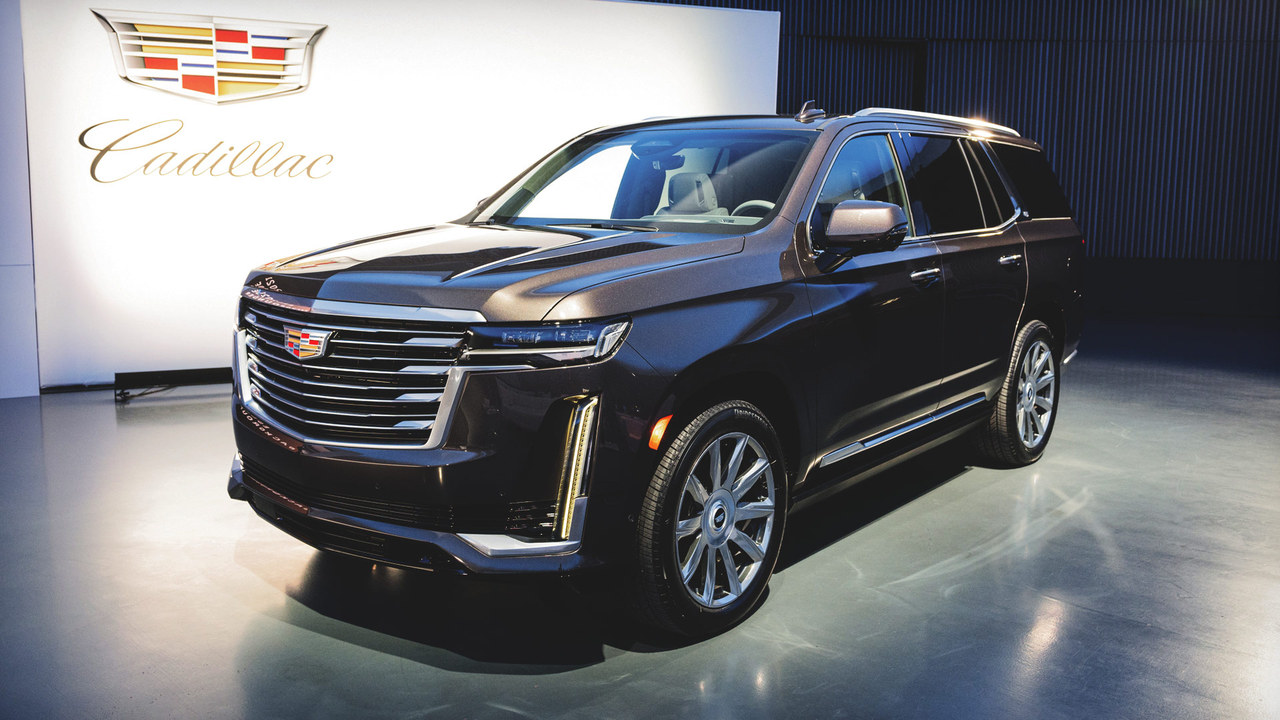 First Look: The Drivetrain of the New 2021 Cadillac Escalade