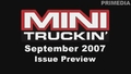 September 2007 Issue Preview Video