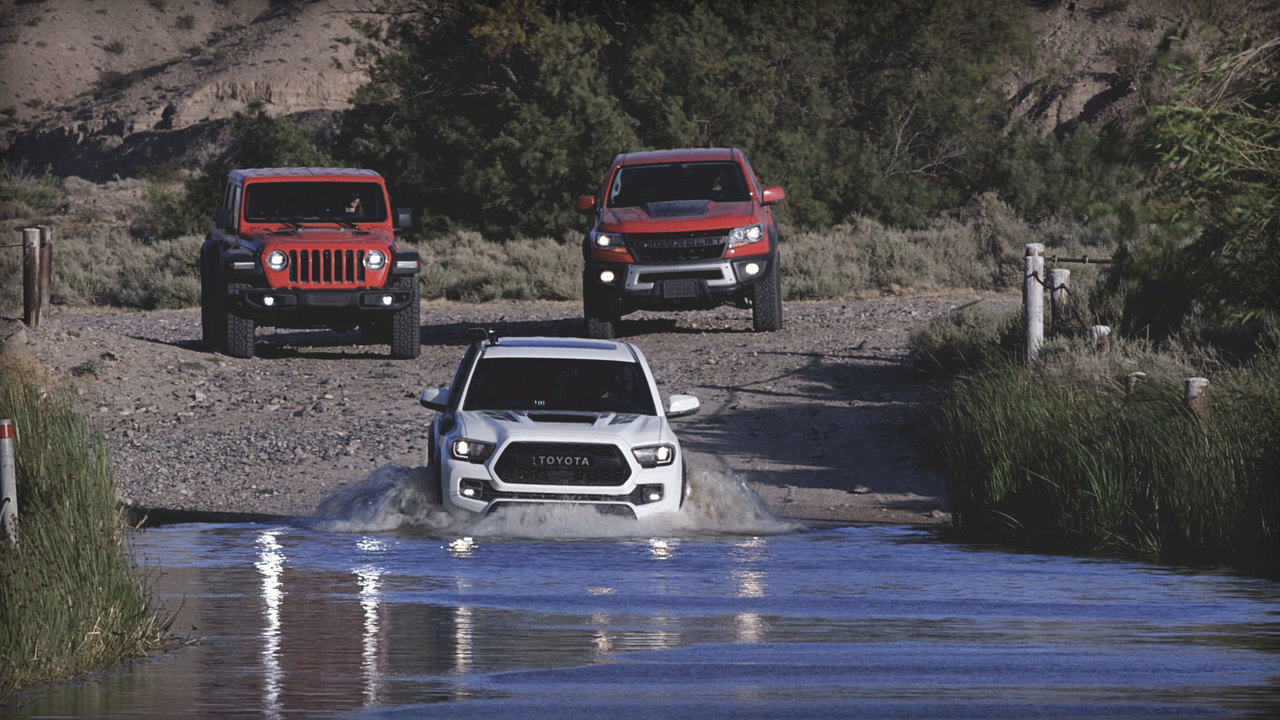 MotorTrend Presents Mojave Road: Three Trail-Ready Trucks Against the Desert