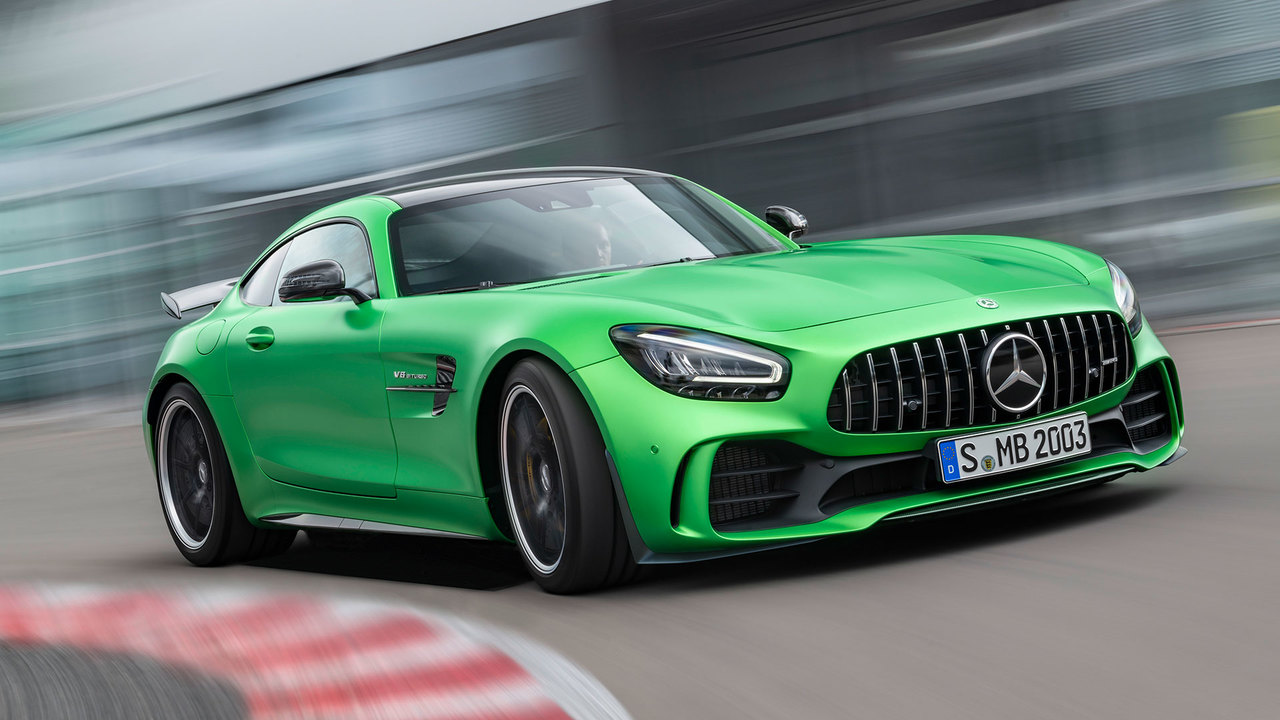 Behind the Wheel: Driving Mercedes-AMG's Second-Hottest GT Coupe