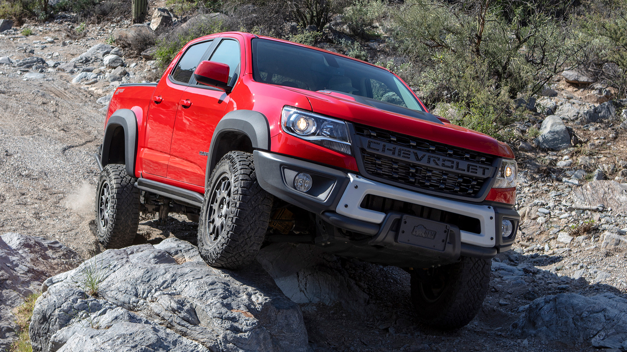 8 Reasons Why the Chevrolet Colorado ZR2 Bison Is Awesome Off-Road