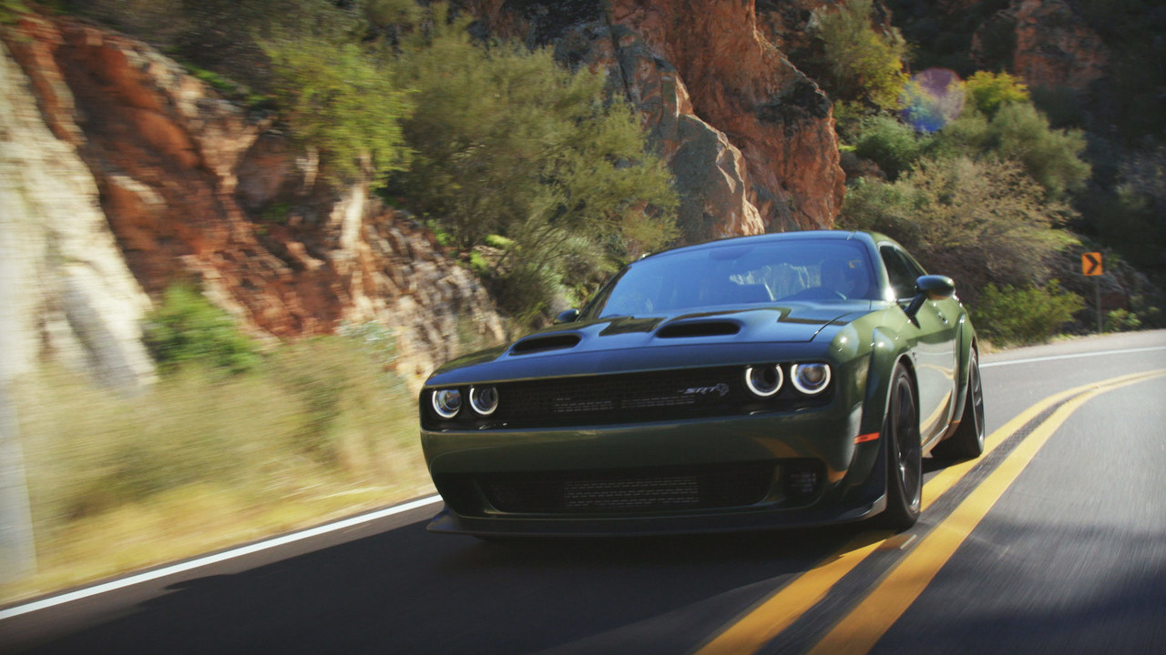 Behind the Wheel: Jethro Bovingdon Drifts and Drives the Challenger Hellcat Redeye
