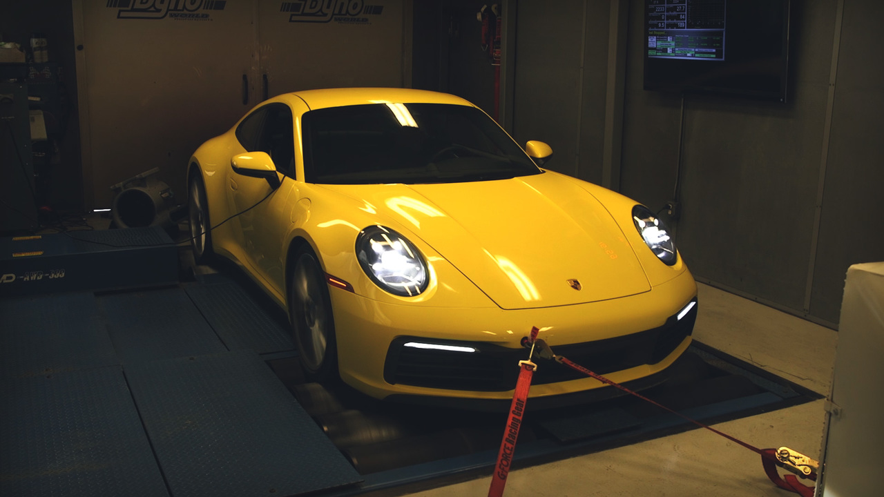 Watch This! Running a 2020 Porsche 911 Carrera S on the Dyno